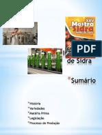 Fabricação de Sidra