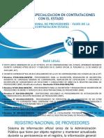 2 Registro Nacional de Proveedores, Fases de La Contrtacion Publica