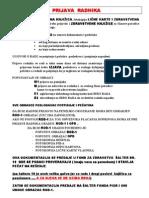 Je broj u osiguranika licni radnoj knjizici sta WebPropisi Infotek