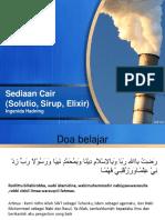 Materi Solutio, Sirup, Eliksir-2