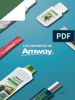 Amway Folleto Favoritos2018VE