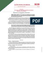 Normativa de Pesca Continental en Bizkaia 2019 - CORRECCIÓN de ERRORES