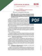 Normativa de Pesca Continental en Bizkaia 2019 - DELIMITACIÓN GEOGRÁFICA TRUCHA Y  Black Bass
