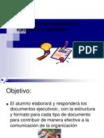 Documentos técnicos y ejecutivos