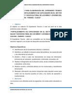 PLAN DE TRABAJO PARA ELABORACIÓN EXPEDIENTE TECNICO ----COLCHA.docx
