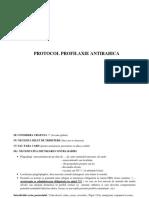 protocol profilaxie antirabica