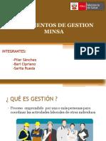 2. Documentos de Gestión MINSA