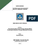 Laporan Karya INOVASI B. Indonesia