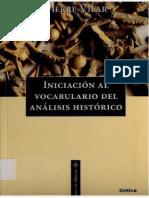 Pierre Vilar- Iniciacion Al Vocabulario