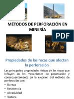 4Metodos de Perforacion Parte I.pptx