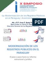 La modernización de los registro publicos en el Paraguay-Avances logrados.pdf