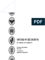 Santiago en 100 Palabras Libro2003-2004