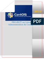Linux Tcp-ip PROJECT 2013