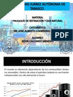 Procesos de Refinación y Gas Natural