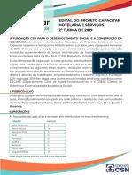 CAPACITAR EDITAL Segundo Semestre 2019-1