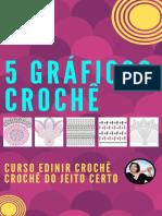 5 Gráficos de Crochê - Edinir Crochê