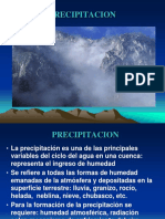 Presentacion Sobre Precipitacion