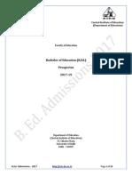 B.Ed. Prospectus 2017.pdf
