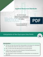 16-Interpolation with Non Equvi-spaced data points - Lagrange Interpolation-28-Jan-2019Reference Materia.pdf