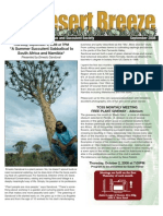 September 2008 Desert Breeze Newsletter, Tucson Cactus & Succulent Society