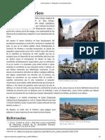 Centro Histórico - Wikipedia, La Enciclopedia Libre