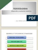 1 Desarrollo y Evolucion de La Toxicologia