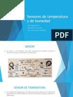 Sensores de Temperatura y Humedad