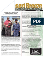 June 2008 Desert Breeze Newsletter, Tucson Cactus & Succulent Society
