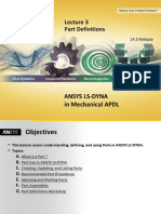 Ansys Ls-dyna Mapdl 14.5 l03 Part Definitions