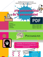 Teoria psicoanalitica de la personalidad
