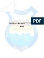 Manual de Convivencia IED EL LIBANO