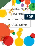 Estrategias de Intervención en Atención a La Diversidad