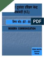 St-55 Data Communication [Compatibility Mode]