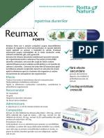 Prezentare Reumax Forte