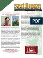 March 2008 Desert Breeze Newsletter, Tucson Cactus & Succulent Society