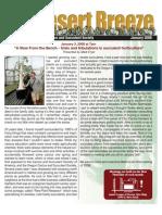 January  2008 Desert Breeze Newsletter, Tucson Cactus & Succulent Society