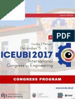 ICEUBI2017 Programa Final