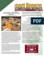 September 2009 Desert Breeze Newsletter, Tucson Cactus & Succulent Society