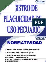 PLAGUICIDAS PECUARIOS REGISTRO