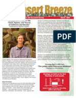 March 2009 Desert Breeze Newsletter, Tucson Cactus & Succulent Society
