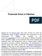 Protected Areas in Pakistan