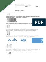 Preparando Mi Examen de Matematicas 3º Basico