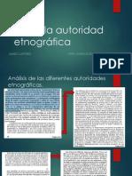 Sobre La Autoridad Etnografica