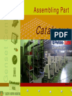 Part Catalogue Assembling Genset