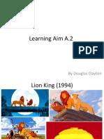 learning aim a