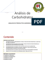 Análisis de Carbohidratos