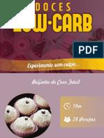 Doces Low Carb - eBook Grátis
