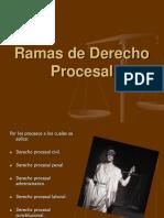Ramas de Derecho Procesal.ppt