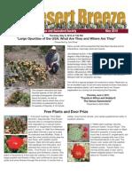 May 2010 Desert Breeze Newsletter, Tucson Cactus & Succulent Society