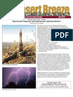 July 2010 Desert Breeze Newsletter, Tucson Cactus & Succulent Society